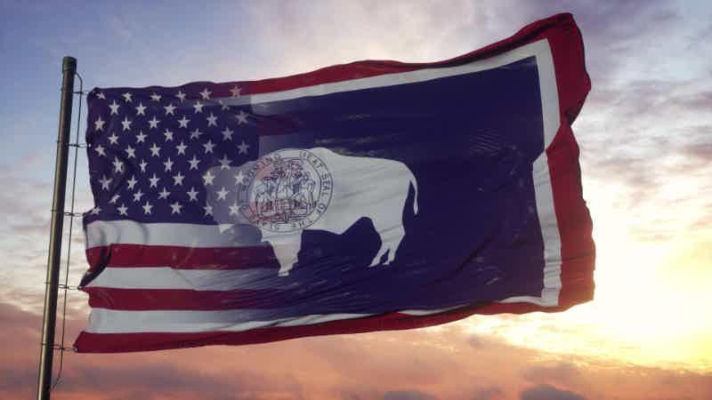 bendera negara bagian wyoming